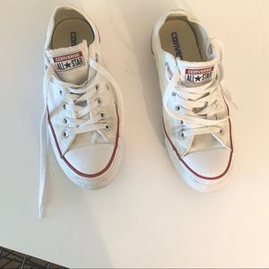 Converse All Star White Women's Sneakers Size 8